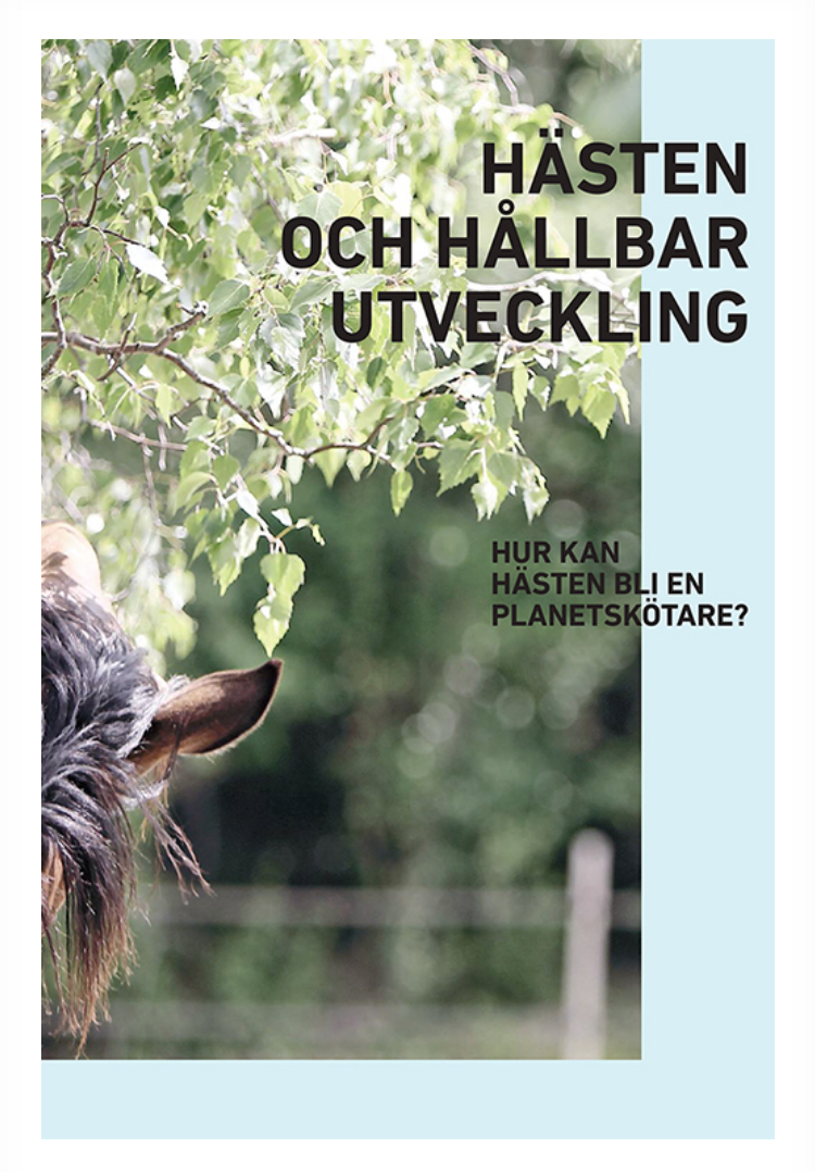 Rapport hästen och hållbar utveckling